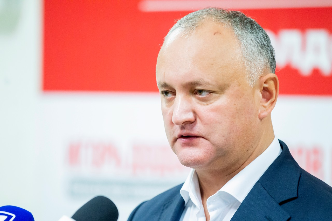 Додон и Воронин подписали соглашение о создании предвыборного блока ПСРМ-ПКРМ